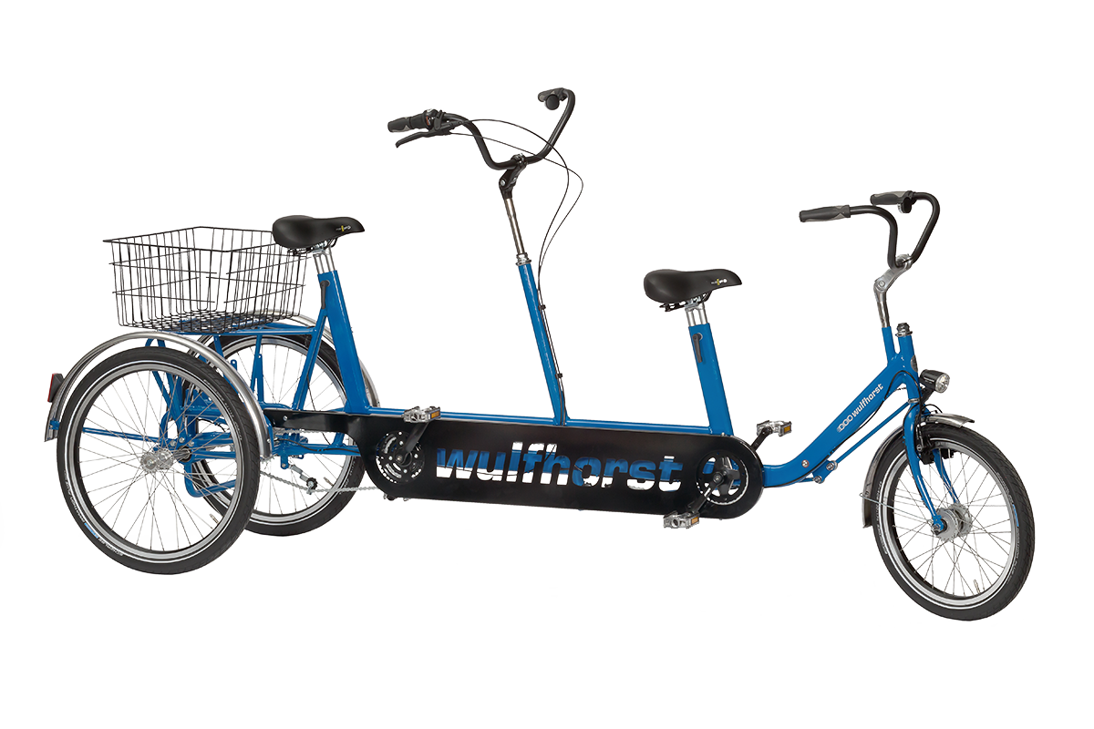 Duo-Luna tricycle